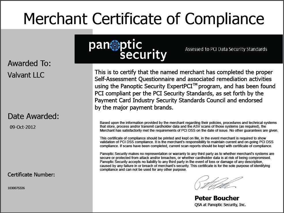 WriteWork PCI Compliant