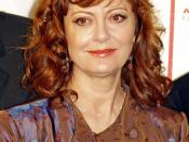 Susan Sarandon at the premiere of Speed Racer at the 2008 Tribeca Film Festival.