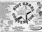 Riot Grrrl Convention, 1992