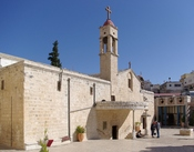 St. Gabriel's Greek Orthodox Church in Nazareth Français : L'église orthodoxe grecque de Saint Gabriel à Nazareth