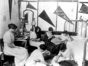 English: Students gather in a dorm room in Jarvis Hall on the Texas Christian University Fort Worth campus.