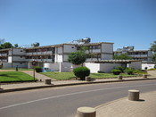 English: Residence hall of the University of Botswana in Gaborone, Botswana
