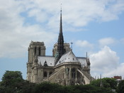 English: The Back of Notre Dame de Paris