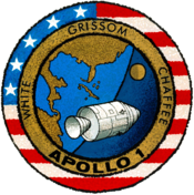 Apollo I mission patch design