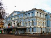 The Ivan Franko Theater of Ukrainian Drama in Kyiv, Ukraine.
