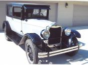 English: 1926 Flint Jr. Z18 Deluxe Coupe