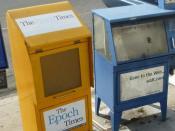 English: Newspaper