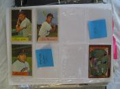 Bowman 1954 Baseball Cards (one 1955)