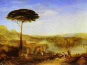 Childe Harold's Pilgrimage by J.M.W. Turner, 1823.