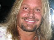 English: Photograph of Vince Neil I took 5th April 2008