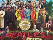 Front cover of Sgt. Pepper's Lonely Hearts Club Band,