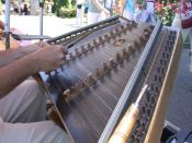 A chromatic hammered dulcimer