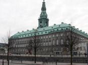 The third Christiansborg Palace