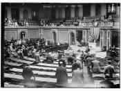 House in session. May 1911.  (LOC)