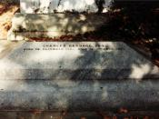 English: Picture of Charles Babbage's Grave