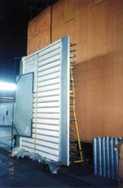 Radian heat panel at National Research Council (NRC) near Ottawa, Ontario, Canada.