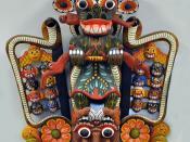 Daha Ata Sanniya - Raksha masks