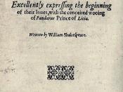 William Shakespeare, Troilus and Cressida: 1609 quarto, title page