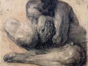 Woman with Dead Child, 1903 etching