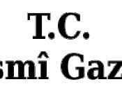 Logo of T.C. Resmi Gazete.