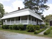 English: Boyhood home of Hank Williams in Georgiana, Alabama