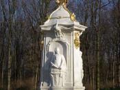 Deutsch: Berlin, Beethoven-Hayden-Mozart Denkmal in Tiergarten