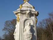 Deutsch: Berlin, Beethoven-Haydn-Mozart Denkmal in Tiergarten