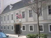 English: House of Joseph Haydn in Vienna, now a Haydn museum. Español: La casa donde vivió Joseph Haydn durante sus últimos años en Viena fue convertida en museo. ATWien1060