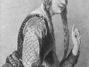 English: Eleanor of Aquitaine, queen consort of Henry II of England. Français : Aliénor (ou Eleanor) d'Aquitaine, reine consort de Henry II Plantagenêt, roi d'Angleterre.