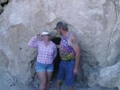 Kim and Kriss at Trona Pinnacles