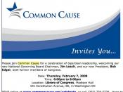 Common Cause Invitation