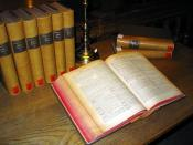 English: A multi-volume Latin dictionary (Egidio Forcellini: Totius Latinitatis Lexicon, 1858–87) in a table in the main reading room of the University Library of Graz. Picture taken and uploaded on 15 Dec 2005 by Dr. Marcus Gossler. Español: Diccionario