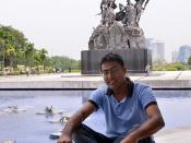 Amin at Tugu Negara