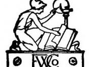 English: Logo of the Funk & Wagnalls Company, taken from the title page of Hoyt's New Cyclopedia Of Practical Quotations (1922).
