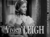 Cropped screenshot of Vivien Leigh from the trailer for the film A Streetcar Named Desire