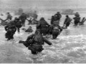 D-Day landings, 6-6-1944.