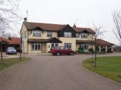 English: St Clare Hospice, Hastingwood. The St.Clare Hospice, Hastingwood, near Harlow provides support and help for terminally ill patients and their carers. It is entirely a self funding charity and has earned an enviable reputation in the care provided