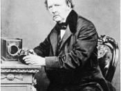 William Henry Fox Talbot, by John Moffat, 1864.