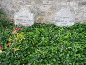 Nederlands: Grafstenen van Vincent van Gogh en Theo van Gogh