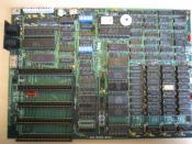Original IBM Personal Computer motherboard (IBM 5150 with Intel 8088) Note the five expansion slots, the IBM PC XT (5160) has eight.