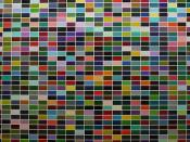 [ R ] Gerhard Richter - 1024 Colors (1973) - Detail