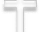 Symbol of Christianity, white version.