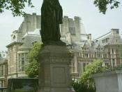English: Benjamin Disraeli statue, Parliament Square, London, Tuesday 13 June 2006