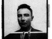 Oppenheimer's badge photo from Los Alamos