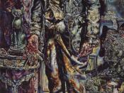 The Picture of Dorian Gray by Ivan Albright, 1943, oil on canvas