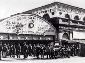 Old Flinders Street Station, Melbourne, Victoria, Australia.