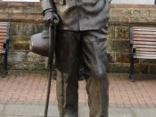 Arthur Conan Doyle statue in Crowborough