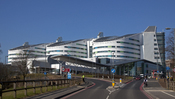 English: Queen Elizabeth Hospital Birmingham, Edgbaston, Birmingham, England.