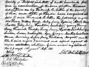 Receipt of slave purchases by Frederick R. Cotten