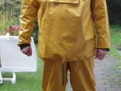 Yellow Guy Cotten gear